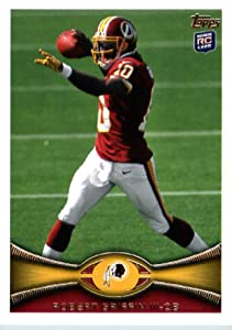 2012 Topps Football Card # 340 Robert Griffin III RC - Washington Redskins (RC - Rookie Card) (NFL Trading Card)