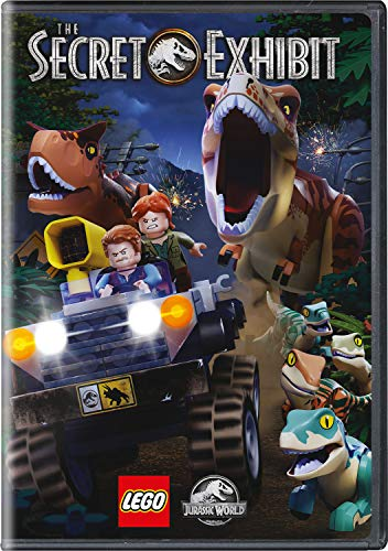 DVD : Lego Jurassic World: The Secret Exhibit (DVD)