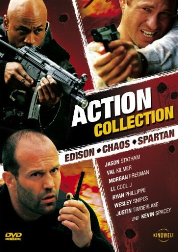 Action Collection - Edison / Chaos / Spartan [3 DVDs]