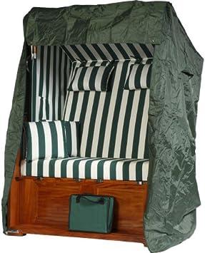 premium strandkorb schutzh lle haube abdeckplane gr n dc543. Black Bedroom Furniture Sets. Home Design Ideas