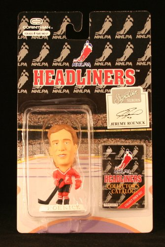 JEREMY ROENICK / NHLPA SIGNATURE SERIES * 3 INCH * 1996 NHL Headliners Hockey Collector Figure