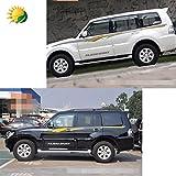 Modified Vehicle Full Car Body Decorative Sticker for Mitsubishi Pajero Body Color Sport Garland Waistline Car Sticker