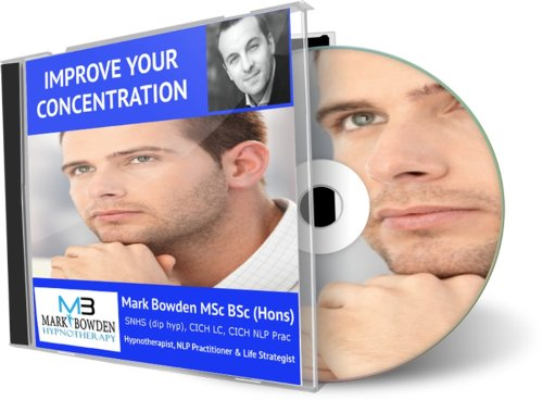 Improve Your Concentration Hypnosis Cd