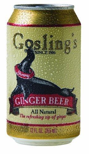 Gosling's Ginger Beer 12 Oz - Pack of 24
