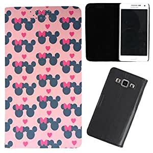 DooDa - For Samsung Galaxy Note 1 PU Leather Designer Fashionable Fancy Flip Case Cover Pouch With Smooth Inner Velvet