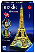 Ravensburger Eiffel Tower - Night Edition - 3D Puzzle (216-Piece)