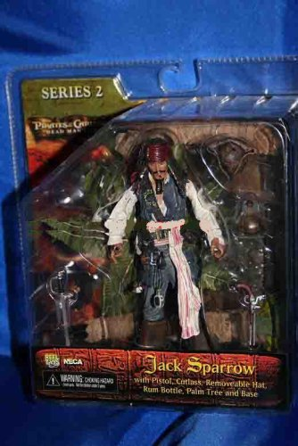 Buy Low Price NECA PIRATES OF THE CARIBBEAN DEAD MAN'S CHEST SERIES 2 JACK SPARROW FIGURE (B000K9KOYS)