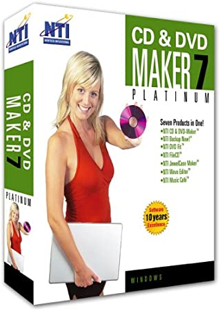 CD & DVD Maker Platinum 7 Professional [Old Version]
