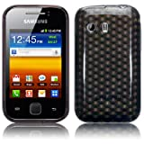 Samsung Galaxy Y S5360 TPU Gel Skin / Case / Cover - Smoke Blackby TERRAPIN