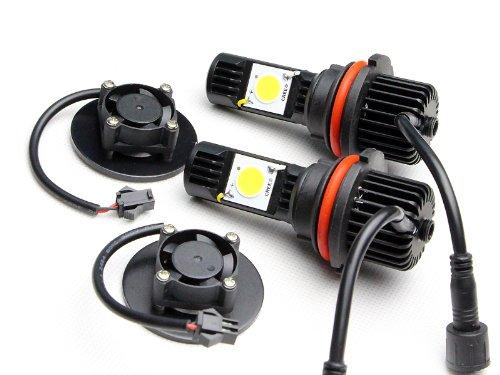 Newsun High Quality Cree Led Headlight 9004 Hb1 50W High Low Beam Led Headlamp Car Head Light Bulb 5000K 12V 24V Led Automotive Lights