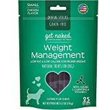 N-Bone Get Naked Weight Management Dental Chew Sticks for Dogs, Small/6.2-Ounce, 18 sticks/Pack