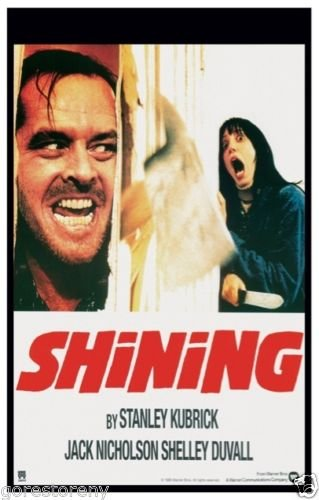 The Shining (1980) Movie Poster 24x36