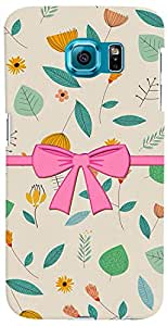 PrintVisa 3D-SGS6EDGEPLUS-D7750 Girly Bow Case Cover for Samsung Galaxy S6 Edge+