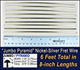 Guitar/Bass Fret Wire - Jumbo Pyramid Style - Six Feet
