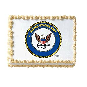United States Navy Edible Cake