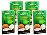 Aroy-D - Kokosmilch - 5er Pack (5 x 1...