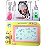 New Pinch Doctor Play Set With Magic Slate ( Multicolor )