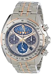 Citizen Men's AV3006-50H The Signature Collection Eco-Drive Moon Phase Flyback Chronograph Watch
