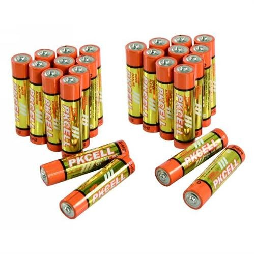 Ett - Lote de 24 pilas alcalinas micro AAA, 1,5 V, súper LR03