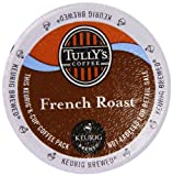 Keurig, Tullys French Roast, Dark Roast Coffee, 50 K-Cup Packs
