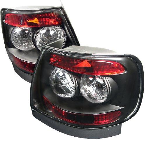 Spyder Auto Audi A4 Black Altezza Tail Light