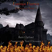 Furious Flames: Elemental, Book 3 Audiobook by Rain Oxford Narrated by Todd Menesses