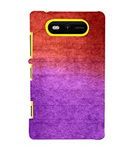 Red Vintage Paintings 3D Hard Polycarbonate Designer Back Case Cover for Nokia Lumia 820 :: Microsoft Lumia 820