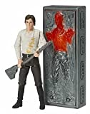Han Solo With Carbonite Block Star Wars Saga 2006 Figure #2