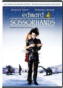 Edward Scissorhands - Full Screen Anniversary  Edition (Edward aux mains dalgent - Edition Danniversaire Plein Ecran ) (Bilingual)