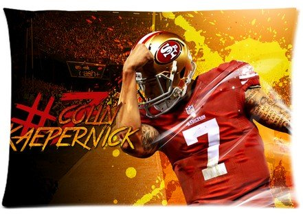 "Accurate Store NFL San Francisco 49ers Colin Kaepernick Pillow case Covers Standard Size 20""x30"" at Amazon.com"