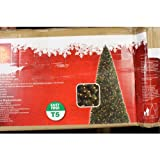 Home Accents Holiday 7.5 Foot Christmas Tree Pre Lighted Slim Wesley Pine Tree