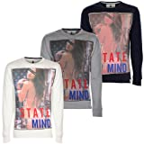 Soul Star Mens Mind Girl Graphic Print Crew Neck Sweatshirt