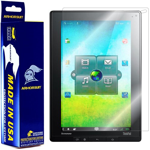 ArmorSuit MilitaryShield - Lenovo ThinkPad Tablet Screen Protector Shield with Lifetime Replacements from Electronic-Readers.com