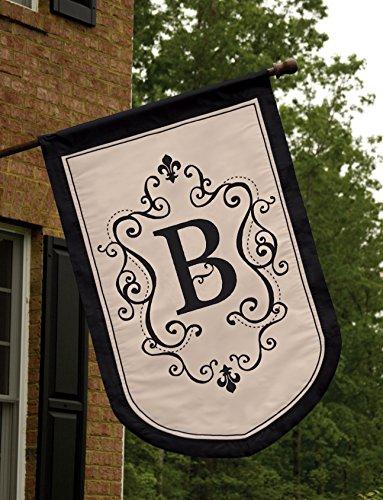Regal Monogram Estate Flag - B front-558851