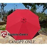 Formosa Covers Patio Umbrella Canopy Fabric   Replacemen