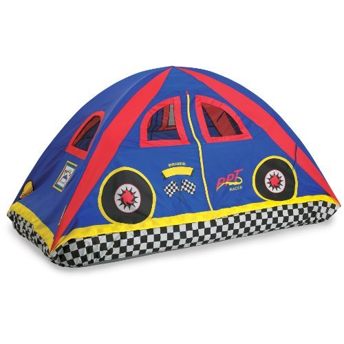 """Pacific Play Tents Rad Racer Bed Tent 77"""" X 54"""" X 42"""" Full Playhouse"""