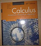 Calculus: Graphical, Numerical, Algebraic (0132014092) by Ross Finney