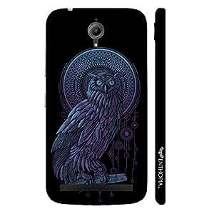 Asus Zenfone Go Holy Owl designer mobile hard shell case by Enthopia