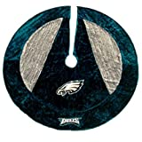 "Forever Collectibles 54"" Holiday Tree Skirt - Eagles at Amazon.com"