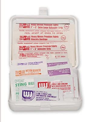 Pac-Kit 7101 23 Piece Pocket First Aid Kit with Plastic Case from Pac-Kit