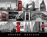 London England Poster 20x16