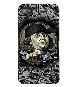PRINTVISA Benjamin Thug Life Case Cover for BlackBerry Z10