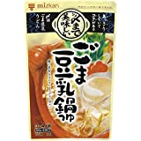 ミツカン 〆まで美味しいごま豆乳鍋つゆストレート 750g×12個