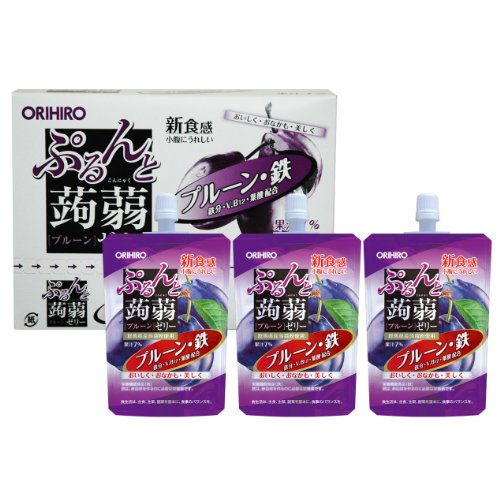 オリヒロ ぷるんと蒟蒻ゼリー 鉄 130g×8個