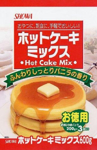 昭和 ホットケーキミックス 600g