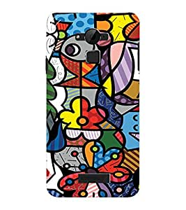 EPICCASE Funky art Mobile Back Case Cover For CoolPad Dazen Note 3 Lite (Designer Case)