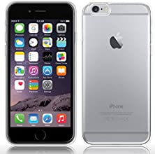 SDTEK Coque Cover Case clair transparent Soft Gel Silicone TPU pour iPhone 6