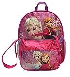 Disney Frozen Elsa Anna 11 Toddler Backpack & Purse Combo Set