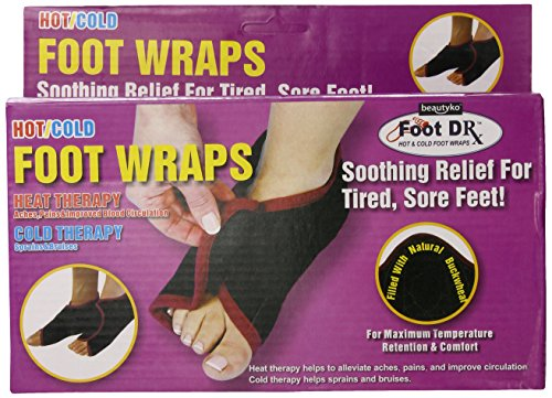 Beautyko Evertone Hot And Cold Foot Wraps