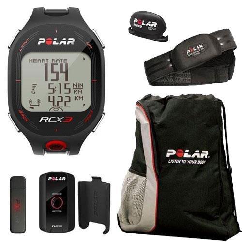 Cheap Polar 90042164 RCX3M GPS in Black with Cinch Bag (90042164KT1)